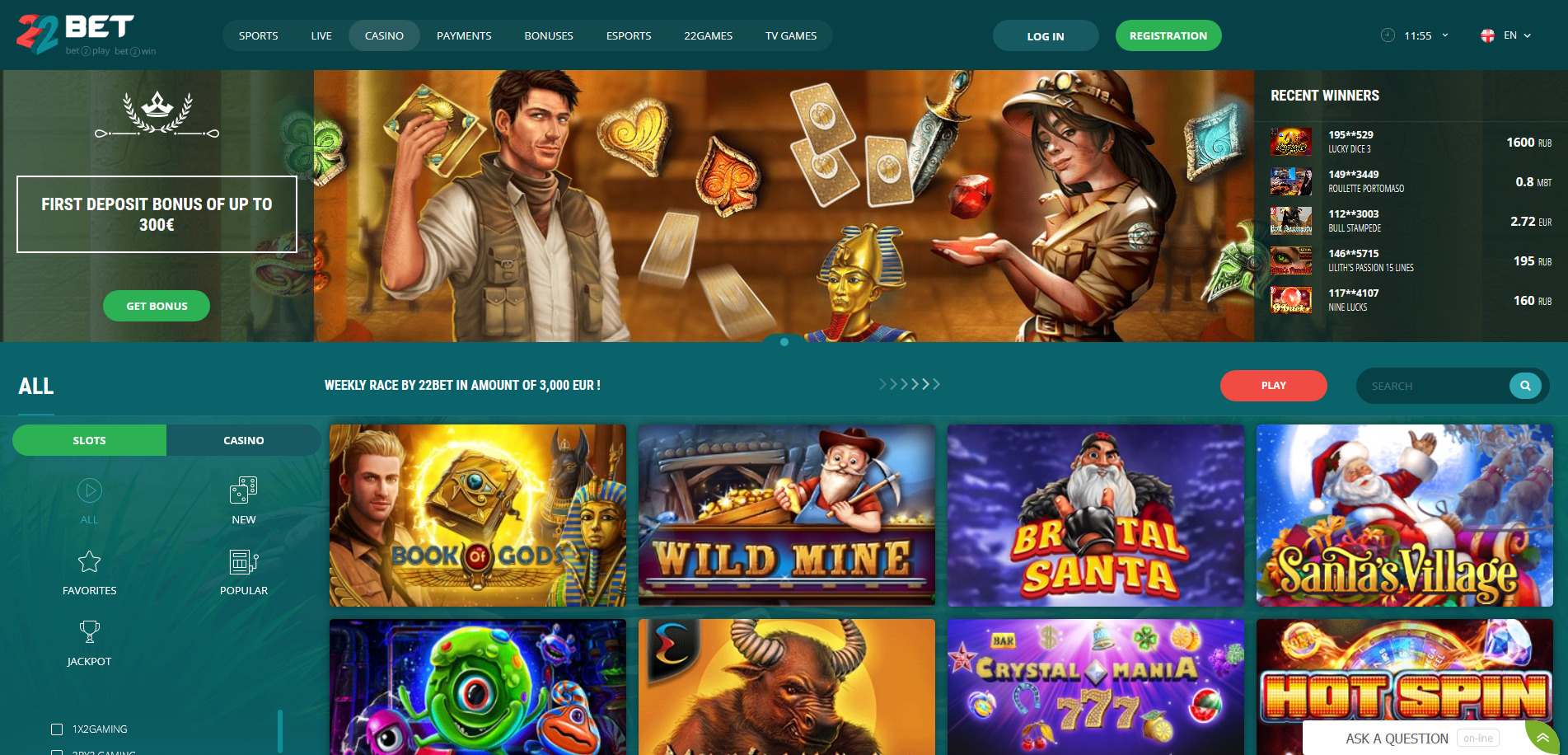 Image result for 22Bet Casino